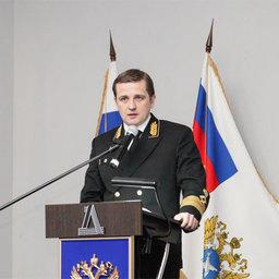 Руководитель Федерального агентства по рыболовству Илья Шестаков на расширенном заседании коллегии ведомства
