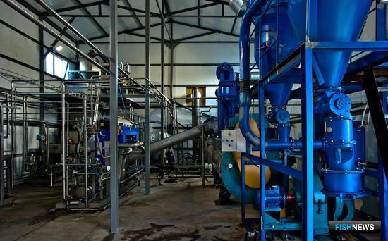 Установка переработки рыбных отходов с комплексом AlfaVap