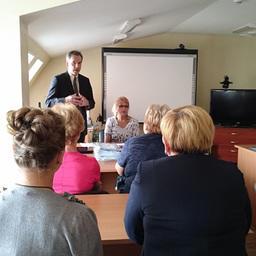 Директор регионального департамента рыбного хозяйства и водных биоресурсов Александр Передня