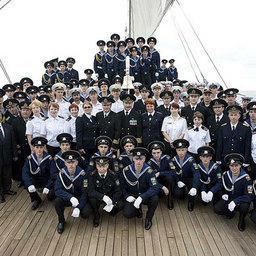 Кругосветчиков посвятили в «настоящие моряки»