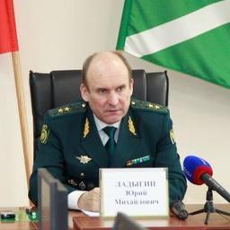 Начальник ДВТУ Юрий ЛАДЫГИН. Фото пресс-службу таможенного управления