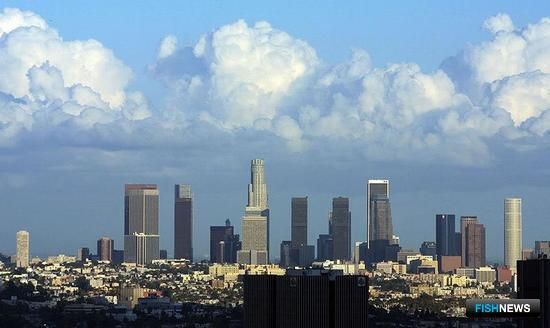 УПС «Паллада» встретили в Лос-Анджелесе