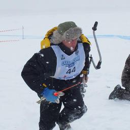 Победитель Виктор ХРИСТОФОРОВ бежит к финишу