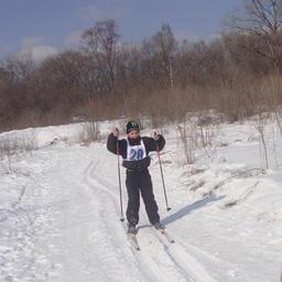 Юный преображенец Петр ЦЫРКОВ заражал своей энергией всех взрослых лыжников