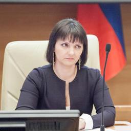 Заместитель руководителя Росрыболовства Яна БАГРОВА