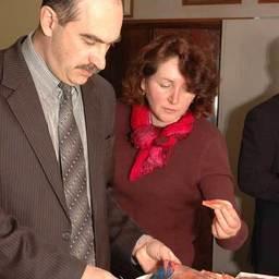 Дегустация продукции Ассоциации креветколовов Дальнего Востока. Владивосток, февраль, 2007