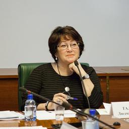 Член Совета Федерации от Законодательного собрания Приморского края Людмила ТАЛАБАЕВА