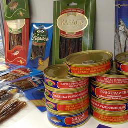 Консервы и вяленые закуски из рыбы от российских рыбоводов – предприятий Ассоциации «Росрыбхоз»