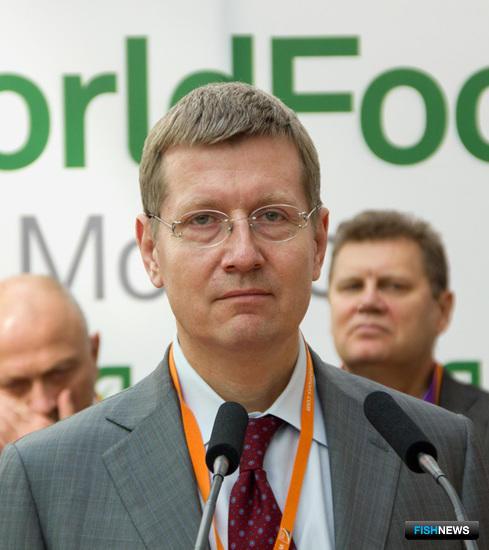 Заместитель министра сельского хозяйства Сергей ЛЕВИН на церемонии открытия