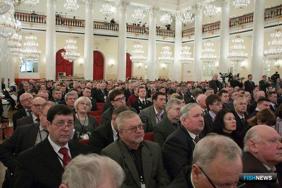 III Всероссийский съезд работников рыбного хозяйства. Москва, февраль 2012 г.