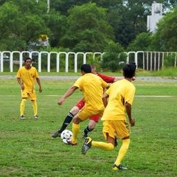 С коллективом ГК «Доброфлот» индонезийские коллеги уже нашли общий язык: летом 2014 г. они успели поучаствовать в традиционном ежегодном футбольном турнире. Фото пресс-службы группы компаний