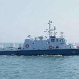 В морской полиции провинции Южная Чолла появился новый сторожевой корабль