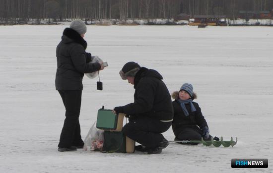Рыбалка – дело семейное