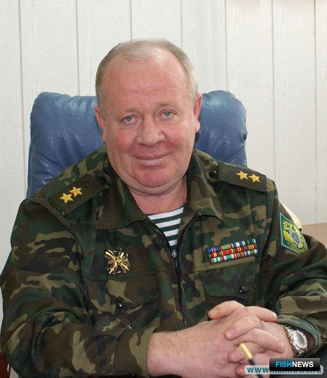 Начальник Северо-Восточного пограничного управления береговой охраны ФСБ России, генерал-лейтенант Александр Лебедев