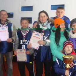 Чемпионы спартакиады – команда Дальневосточного мореходного училища
