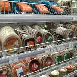 Рыбная продукция в сахалинском супермаркете