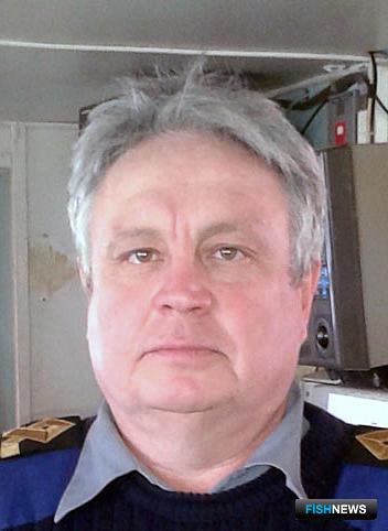 Капитан СТРМК «Апостол Петр» Андрей КОРОЕДОВ