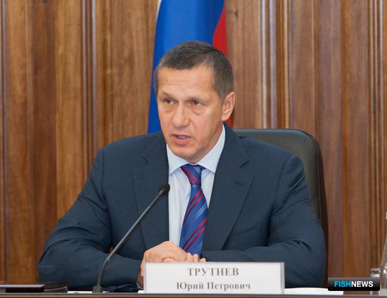 Заместитель председателя Правительства РФ – полномочный представитель президента РФ Юрий ТРУТНЕВ