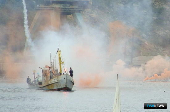Празднование Дня рыбака в РК «Приморец», 10 июля 2010 г.