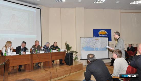 Совещание в Астраханской области по вопросам спортивно-любительского рыболовства. Фото предоставлено пресс-службой ФГУП «КаспНИРХ».