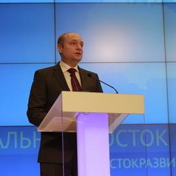 Глава Минвостокразвития Александр ГАЛУШКА. Фото пресс-службы ведомства