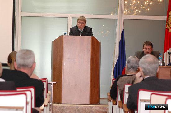 Совещание в администрации Приморского края