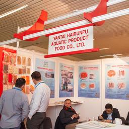В тематическом салоне «Рыба и морепродукты» в этом году участвуют более 50 компаний из России и зарубежных стран