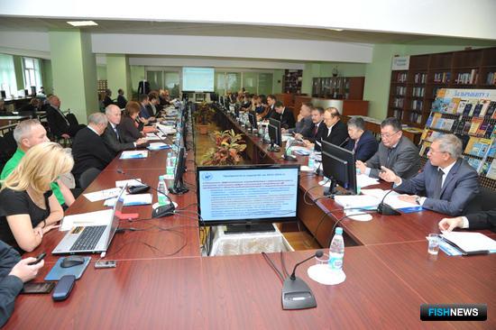 В Дальрыбвтузе прошло заседание координационного учебно-методического совета по образованию в области рыбохозяйственной и пищевой деятельности