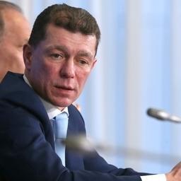 Министр труда и социальной защиты Максим ТОПИЛИН. Фото пресс-службы правительства