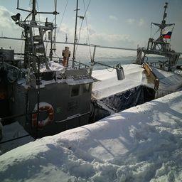 Шхуну «OST-3» задержали и доставили в Корсаков. Фото пресс-службы Погрануправления ФСБ России по Сахалинской области
