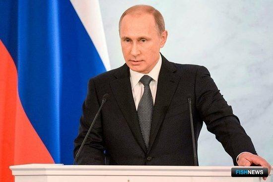 Президент России Владимир ПУТИН. Фото пресс-службы главы государства.