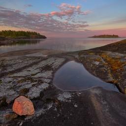Ладожское озеро, Лахденпохский район. Фото с сайта wildphotorus.ru