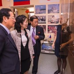 Для гостей провели экскурсию по учебным комплексам и лабораториям университета. Фото информационно-аналитического отдела Дальрыбвтуза