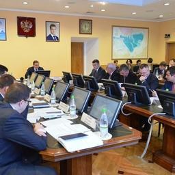 Заседание Совета директоров рыбохозяйственных НИИ прошло в Росрыболовстве. Фото пресс-службы ведомства