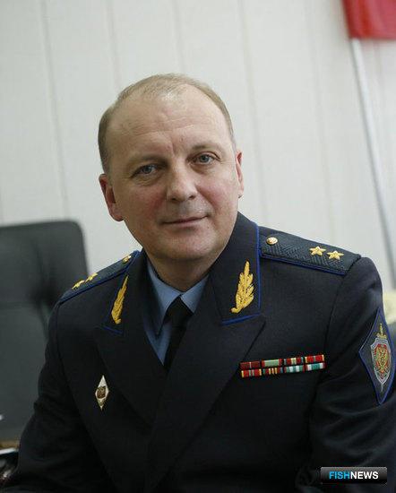 Начальник Северо-Восточного погрануправления береговой охраны ФСБ России, генерал-лейтенант Рафаэль ДАЕРБАЕВ