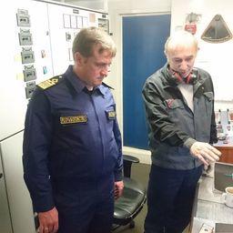 Заместитель министра сельского хозяйства – глава Росрыболовства Илья ШЕСТАКОВ пообщался с членами экипажа на судне «Асбьорн»