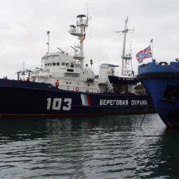 Камчатский пограничный флот принял поздравления и подарки