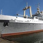 В самом начале этого года построенное на Николаевском заводе судно – БМРТ «Генерал Трошев» – было передано заказчику, Преображенской базе тралового флота. А в марте 2012 г. новая единица флота ПБТФ уже включилась в работу в Охотоморской экспедиции