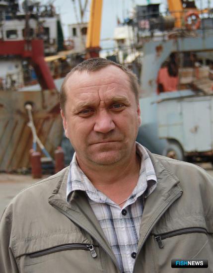 Старший механик судна «Кировка» Степан ВЕСЕЛКОВ