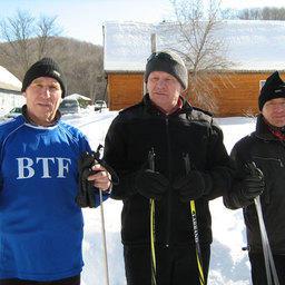 Лыжные «аксакалы»: Борис Буданцев, Валентин Бредихин и Александр Пузин