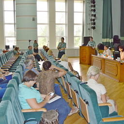 Дискуссия участников круглого стола