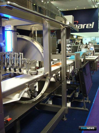 Стенд компании Marel на The European Seafood Exposition, Брюссель, май 2011 г.