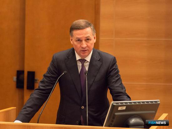 Первый заместитель губернатора Мурманской области Алексей ТЮКАВИН