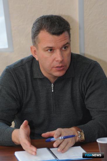Начальник Владморрыбколледжа Евгений ДУБОВИК