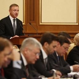 Министр образования и науки Дмитрий ЛИВАНОВ выступил на заседании Правительства РФ. Фото пресс-службы Минобрнауки.