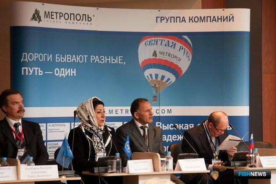 Пленарное заседание форума «Каспийский диалог, 2011», Москва, 18 апреля 2011 г.