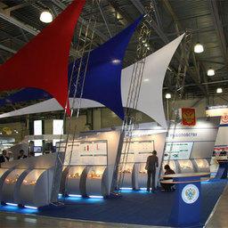 Стенд Росрыболовства на Международной рыбохозяйственной выставке InterFISH
