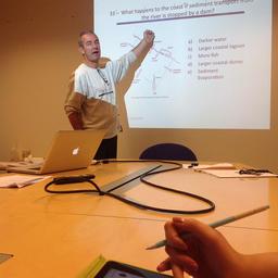 В Университете Тромсё для студентов МГТУ провели цикл лекций на английском языке. Фото пресс-службы МГТУ.