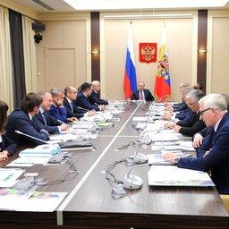 Глава государства Владимир Путин провел заседание наблюдательного совета АСИ. Фото пресс-службы президента