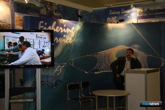 Стенд компании «Фишеринг Сервис» на Международной рыбохозяйственной выставке InterFISH